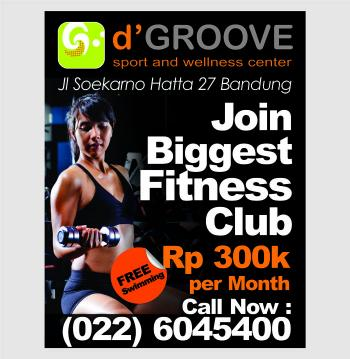 The Biggest Fitness Club in Bandung