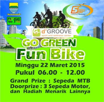 Go Green FUN BIKE 2015