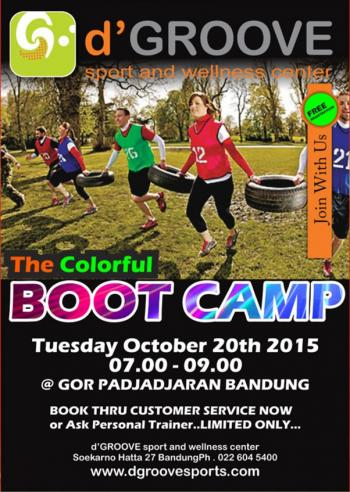 Colorful BOOT CAMP